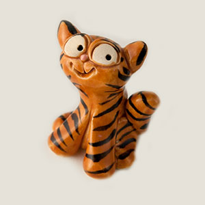 Bright Eyes Cat Collectible Figurine