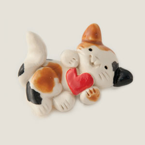 Love Kitty Collectible Figurine