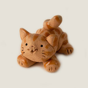 Mouser Cat Collectible Figurine