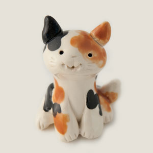 Tall Calico Collectible Figurine
