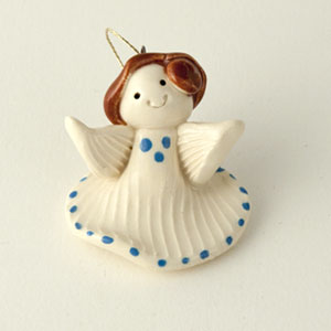 Angel Brunette Collectible Figurine