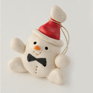 Santa Frosty Collectible Figurine