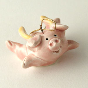 When Pigs Fly Collectible Figurine