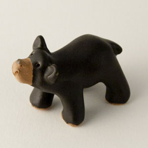 Black Bear Collectible Figurine