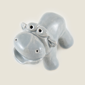 Hippo Collectible Figurine
